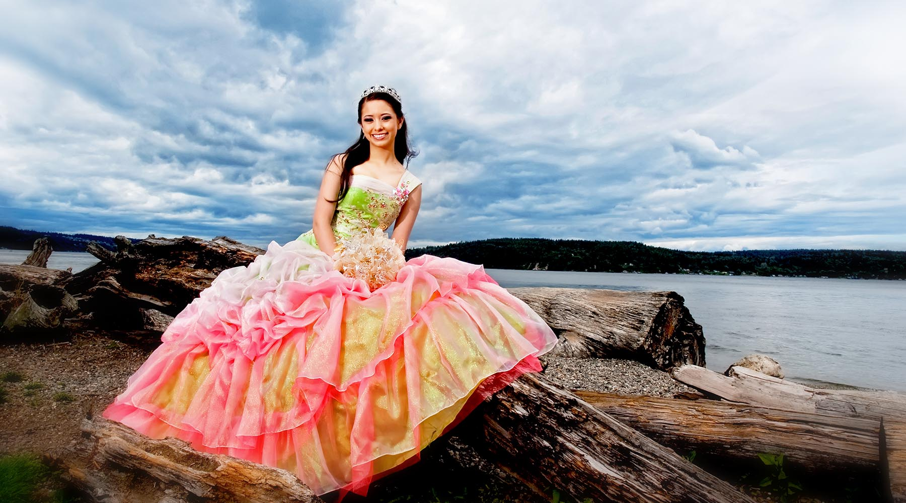 Quinceañera Pre- Session Galveston Beach, Houston by Marin Miguel Photography